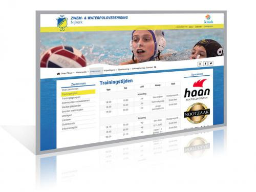Sportvereniging website laten maken